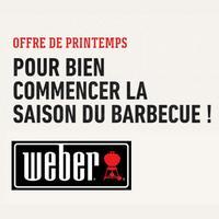 Bon Plan Weber : 1 Barbecue Acheté = 1 Accessoire Offert