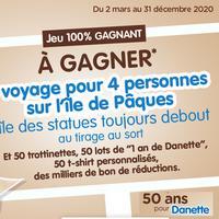 IG + TAS AOA Danette : 1 Voyage sur l'île de Pâques pour 4 personnes