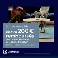 Offre de Remboursement Electrolux : Jusqu'à 200€ Remboursés sur Aspirateur