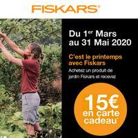 Offre de Remboursement Fiskars : 1 Produit 100% Remboursé