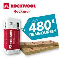 Offre de Remboursement Rockwool : Jusqu'à 480€ Remboursés sur Panneaux Rockmur