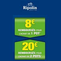 Offre de Remboursement Ripolin : Jusqu'à 20€ Remboursés sur Gamme XPRO3