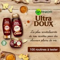 Test de Produit Beauté Test : Routine de Soins Revitalisante Ultra Doux Gingembre de Vie de Garnier