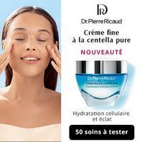 Test de Produit Beauté Test : Crème Fine à la Centella Pure de Dr Pierre Ricaud