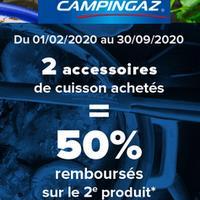 Offre de Remboursement Campingaz : 50% Remboursés sur le 2ème Accessoire de Cuisson