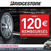 Offre de Remboursement Bridgestone : Jusqu'à 120€ sur les Pneus chez Profil+