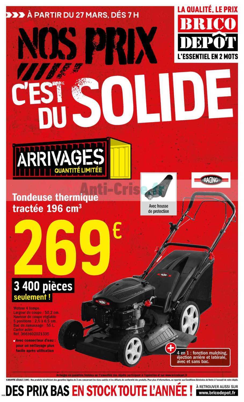 Brico Depot Le Nouveau Catalogue Du 27 Mars Au 09 Avril 2020 Est Disponible Economisez Grace Aux Promos De Ce Catalogue