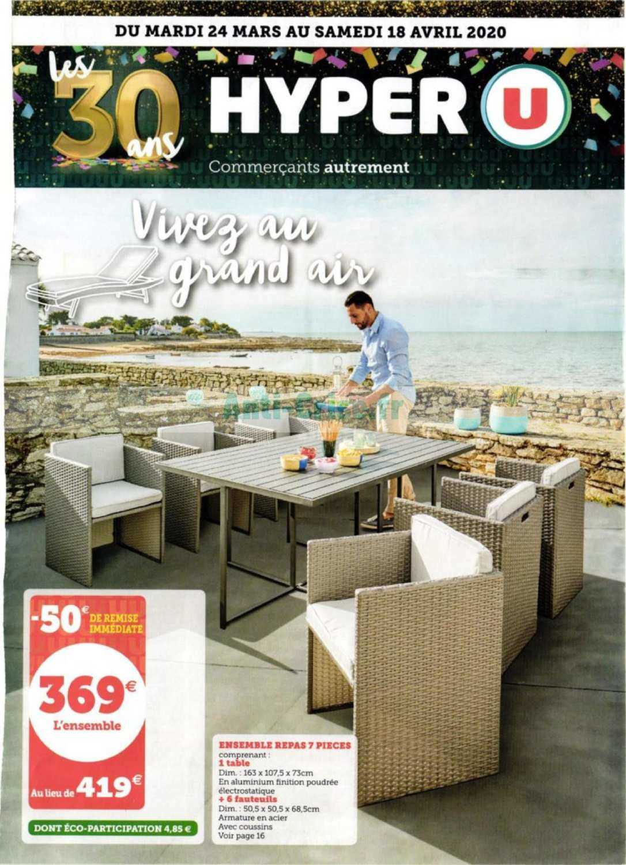Hyper U Le Nouveau Catalogue Du 24 Mars Au 18 Avril 2020 Est Disponible Decouvrez Les Bons Plans Du Dernier Catalogue