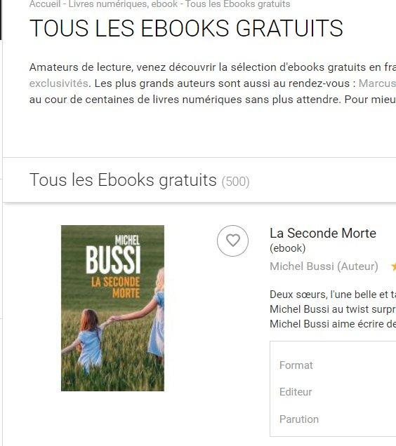 Fnac: 500 livres numériques gratuits