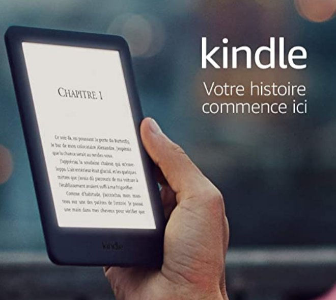 Liseuses Amazon Kindle à partir de 54.99€