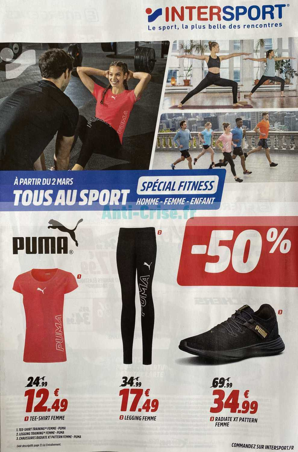 Catalogue Intersport du 02 au 29 mars 2020 Catalogues