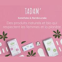 Offre de Remboursement Tadam' : Protection Hygiénique Satisfaite et 100% Remboursé