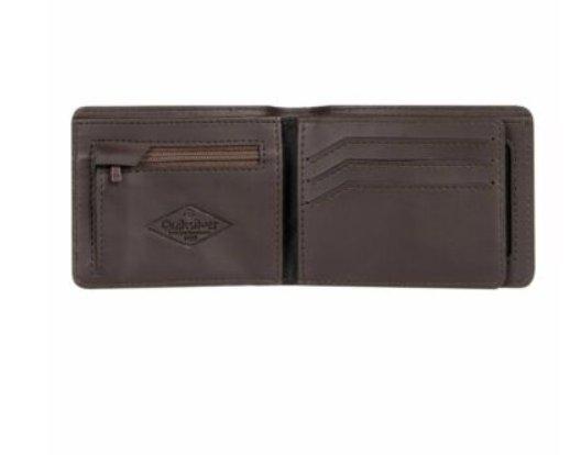 20€ le portefeuille en cuir Quiksilver