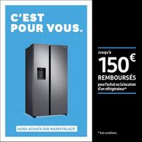 Offre de Remboursement Samsung : Jusqu'à 150€ Remboursés sur Réfrigérateur