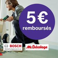 Offre de Remboursement Bosch : 5€ Remboursés sur Coffret X-Line