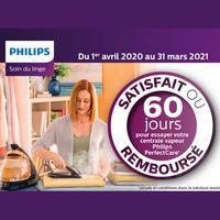 Offre d'Essai Philips : Fer à Repasser Perfectcare Satisfait ou 100% Remboursé