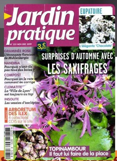 Moins de 13€ l'abonnement à la revue Jardin Pratique