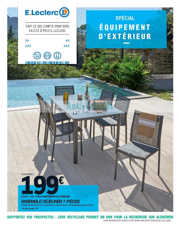 Promo Aménager catalogue Leclerc La sélection du juin du 28