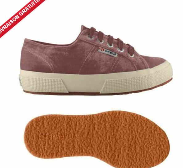 13,99€ les sneakers SUPERGA enfants (23 au 34) VELVETCHENILLEJ
