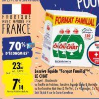 Lessive Liquide Le Chat chez Carrefour (25/05 – 08/06)