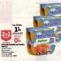 Naturnes légumes Nestlé Bébé chez Auchan (03/06 – 09/06)