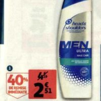 Shampoing Head & Shoulders chez Auchan (26/05 – 09/06)