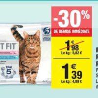 Sachets pour chats Perfect Fit chez Carrefour Market (26/05 – 07/06)