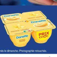 Danette Danone chez Carrefour Market (26/05 – 07/06)