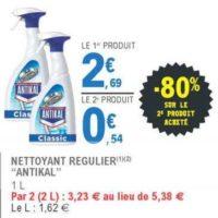 Spray Nettoyant Antikal chez Leclerc (26/05 – 06/06)