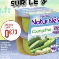 Naturnes légumes Nestlé Bébé chez Géant Casino (01/06 – 14/06)