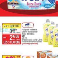 Liquide vaisselle Mir chez Cora (02/06 – 08/06)