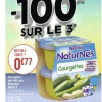 Naturnes légumes Nestlé Bébé chez Casino (01/06 – 14/06)