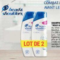 Shampoing Head & Shoulders chez Leclerc (26/05 – 06/06)
