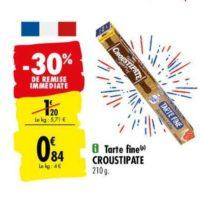 Pâte à Tarte Croustipâte chez Carrefour (25/05 – 08/06)