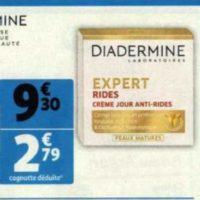 Crème Expert Diadermine chez Auchan (26/05 – 09/06)