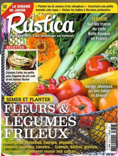44.9€ l'abonnement d'un an à RUSTICA