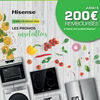 Offre de Remboursement Hisense : Jusqu'à 200€ Remboursés sur Gros Electroménager