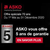 Bon Plan ASKO : 5 Ans de Garantie Offerts