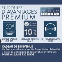 Bon Plan Liebherr : 1 Appareil Acheté = 1 Cadeau de 120€