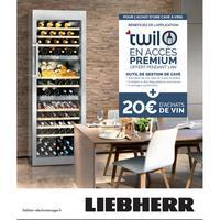 Bon Plan Liebherr : 1 Cave à Vin Achetée = 1 Accès à Twil + 20€ d'achats de Vin