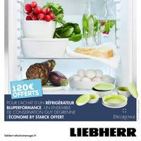 Bon Plan Liebherr : 1 Réfrigérateur Acheté = 1 Ensemble Guy Degrenne Offert