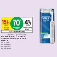 Brosse à Dents Electrique Oral-B chez Intermarché (26/05 – 07/06)