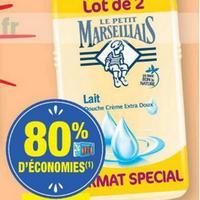 Gel Douche le petit Marseillais chez Carrefour Market (26/05 – 07/06)