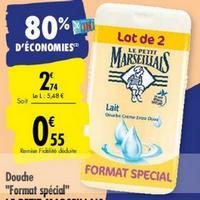 Gel Douche Le Petit Marseillais chez Carrefour (02/06 – 15/06)