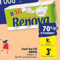 Essuis-Tout Renova chez Carrefour (25/05 – 08/06)