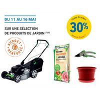 Leclerc : 30% en Tickets Leclerc sur des Produits du Jardin (11/05 – 16/05)