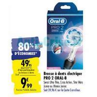 Brosse à Dents Electrique Pro 2 Oral-B chez Carrefour (02/06 – 15/06)