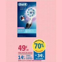 Brosse à Dents Electrique Pro 2 Oral-B chez Leclerc (26/05 – 06/06)
