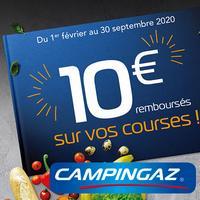 Offre de Remboursement Campingaz : 10€ Remboursés sur Glacière Rigide