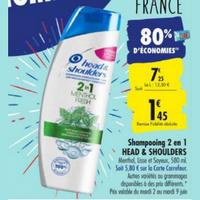 Shampoing Head & Shoulders chez Carrefour (02/06 – 15/06)